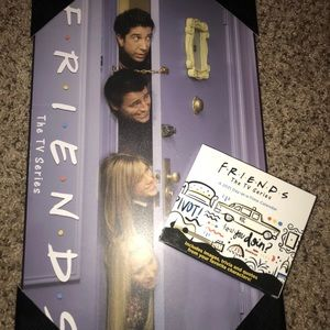 Friends tv show Daily Calendar & picture wall art
